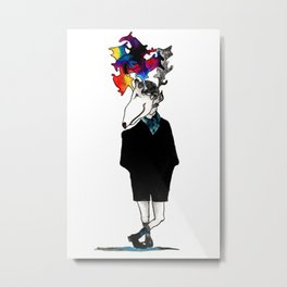 Analog Boy Metal Print