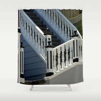 brand new Shower Curtains featuring A Brand New Me by oneofacard