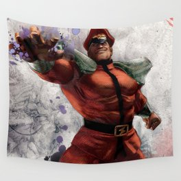 M Bison Wall Tapestry