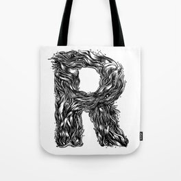 The Illustrated R Tote Bag