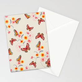 India Floral Stationery Cards