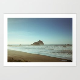 Sandy Beaches  Art Print