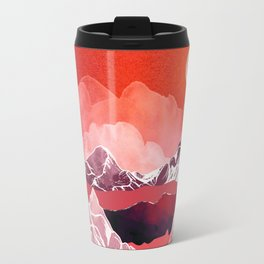 Scarlet Glow Travel Mug