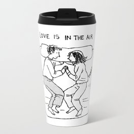 Love is in the air Metal Travel Mug