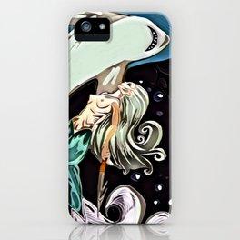 Siren Harpoons The Devour iPhone Case