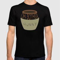 Oh, Bother Mens Fitted Tee MEDIUM Black