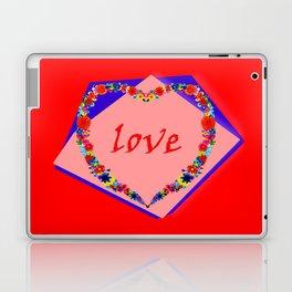 heart of flowers Laptop & iPad Skin