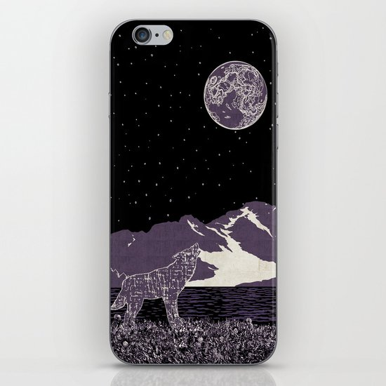 Wolf 1 iPhone & iPod Skin