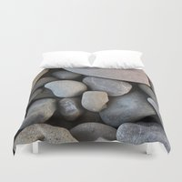 rocky Duvet Covers featuring Rocky by Claire Laminen Photo