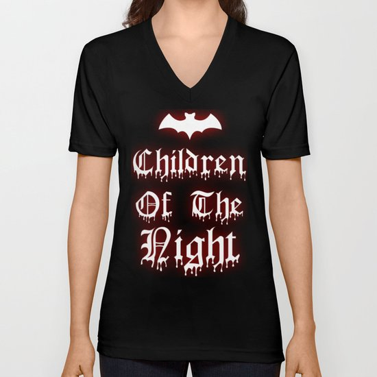 Children Of The Night  Unisex V-Neck
