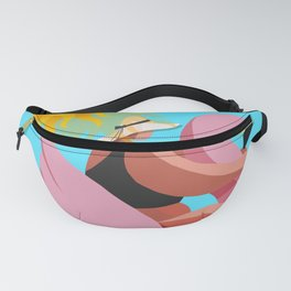 Time you enjoy wasting is not wasted time. Fanny Pack