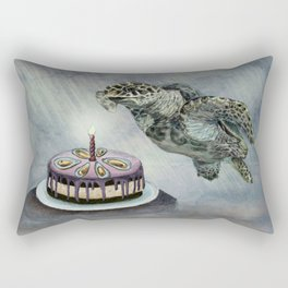 Turtle Birthday Rectangular Pillow