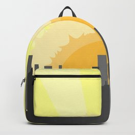 Grey City Morning Backpack