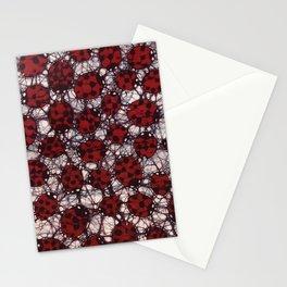Ladybug Batik Stationery Cards