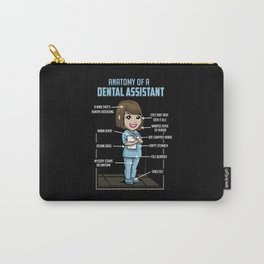 Anatomy Of A Dental Assistant Carry-All Pouch