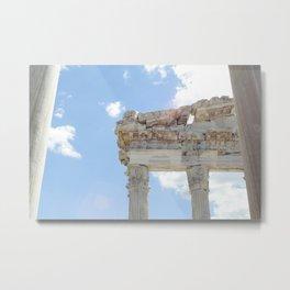 Temple of Trajan Metal Print
