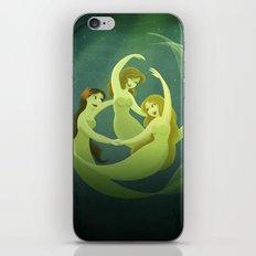 Three Mermaids iPhone & iPod Skin