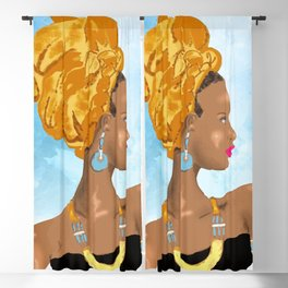 Queen Nzinga Blackout Curtain