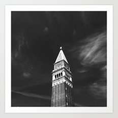 St Mark's Campanile Art Print