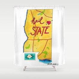 Hail State Shower Curtain