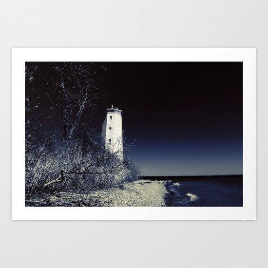 Presqu'ile Park Lighthouse Art Print
