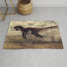 Velociraptor Mongoliensis Restored Rug