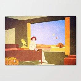 Mos Eisley Motel Room 106 Canvas Print