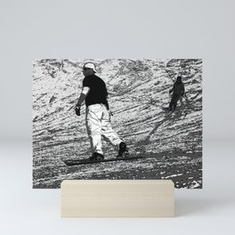 Snowboarding - Winter Sports Mini Art Print