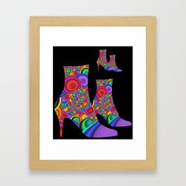 highheels -1- Framed Art Print