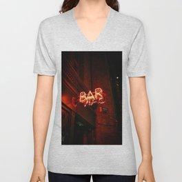 BAR (Color) Unisex V-Neck