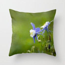 Woodland Columbine II Throw Pillow