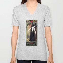 Dark Lili Nouveau - Legend Unisex V-Neck