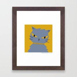 #30daysofcats 24/30 Framed Art Print