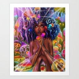Insta mush Art Print