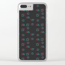 Retro Error Clear iPhone Case