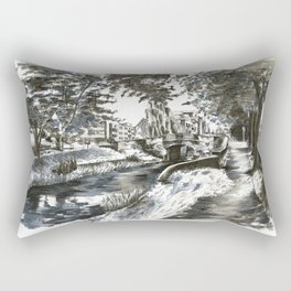 Huband Bridge, Dublin Rectangular Pillow