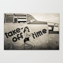 Time For Take Off Canvas Print