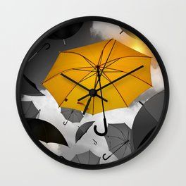 individuality Wall Clock