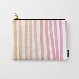 Taffy Chalk Stripes Carry-All Pouch