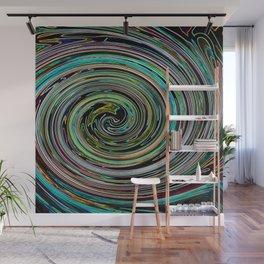 Hypnotic vortex Wall Mural