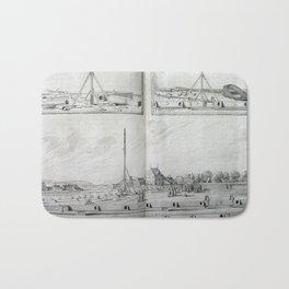 Johannes Hevelius - Celestial Devices, Part 1 - Plate 4 Bath Mat