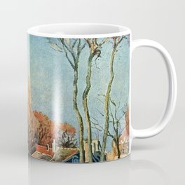 Camille Pissarro - Entree du village de Voisins Coffee Mug