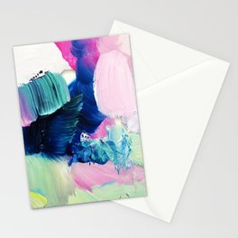Friday Evening (Abstract Painting) Stationery Cards
