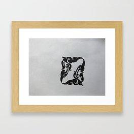 Window of live Framed Art Print
