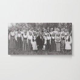 Choir a la 1926 Metal Print