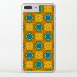 Tryptile 39 (Repeating 2) Clear iPhone Case