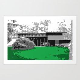 Usonian 1 Art Print