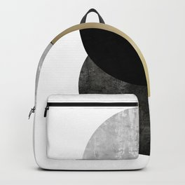 Moon Phase, Mid Century Modern,Scandinavian Abstract Backpack