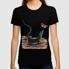 Lizard & Butterfly T-shirt