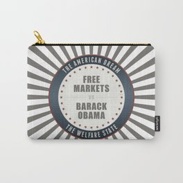 Free Markets Versus Obama Carry-All Pouch